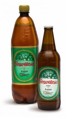 """Бердичевское пиво """"Лагер"""""""