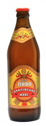 """Славутское пиво """"Павловское светлое"""""""