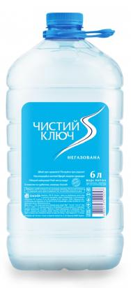 """Экония ТМ вода """"Чистый ключ"""" негазированная"""