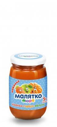 Малятко Пюре морковно - тыквенно - яблучное